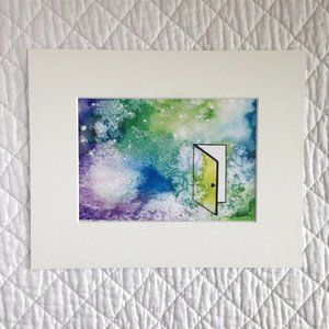 """""""Discovery"""" 5x7 Artwork Print With Mat"""
